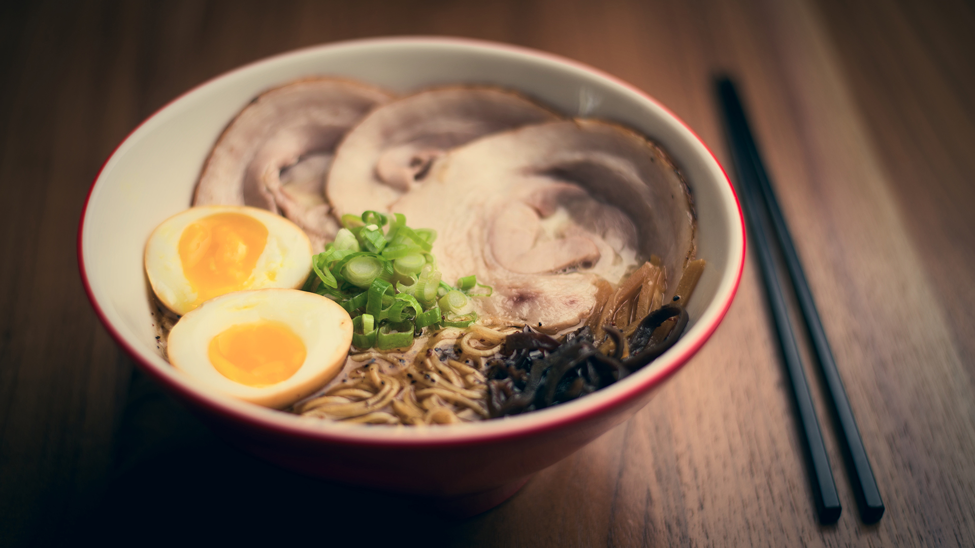 Black garlic miso ramen