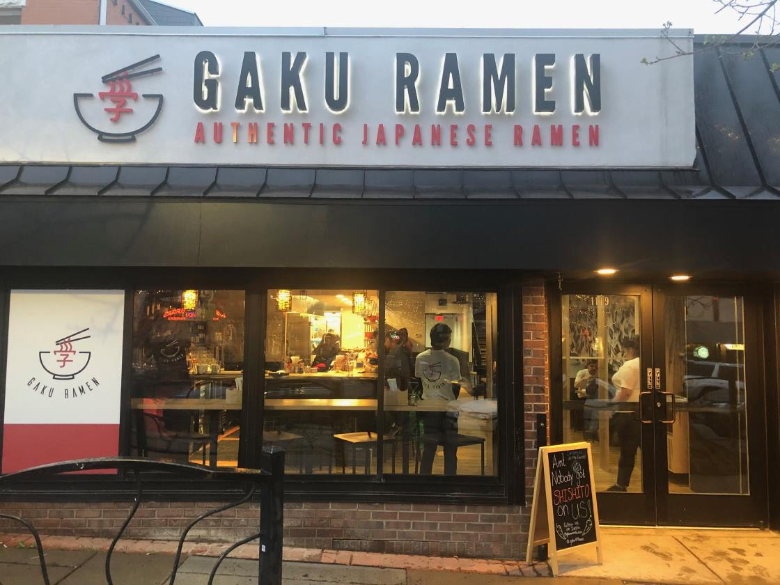 Welcomr to Gaku Ramen Boulder